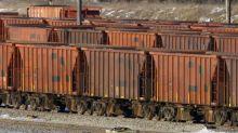 Rail car crunch