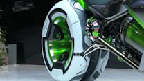 Kawasaki concept bike offers transformative vision of the future