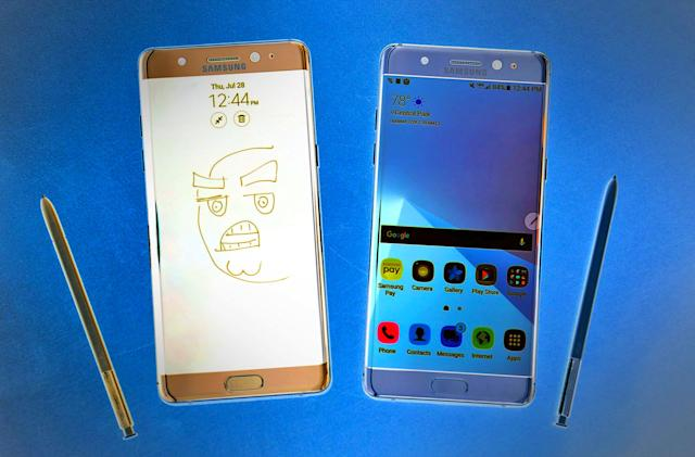 Samsung ends production of the Galaxy Note 7 for good