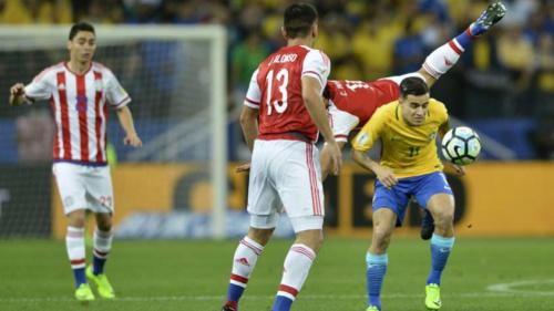 Brasil x Paraguai tem terceira maior renda da história do futebol brasileiro