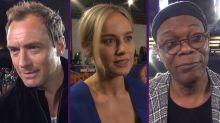 Brie Larson y el equipo de 'Capitana Marvel' nos presentan la primera película del UCM protagonizada por una mujer