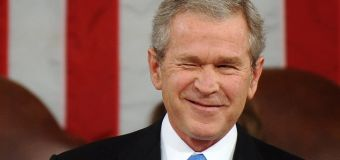 Who did George W. Bush want as U.S. president?