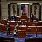 House passes key defense legislation establishing Space Force and paid parental leave