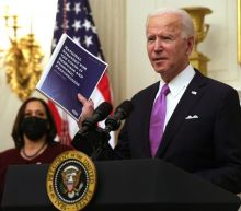 TIME marks start of Biden's presidency with cover of Oval Office trashed by Trump