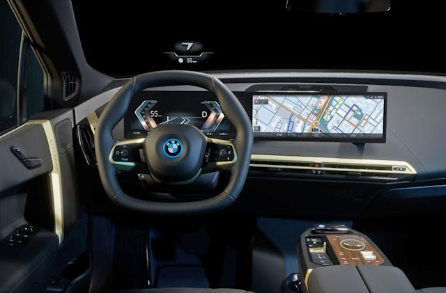BMW's iDrive 8 helps drivers using machine learning and natural language processing