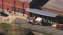 Raw: School evacuated after reports of fainting