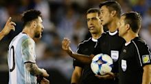 Lionel Messi suspended FOUR Argentina games for verbally abusing assistant referee