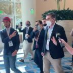 Conservatives Challenge CNN Reporter Jim Acosta at CPAC in Orlando