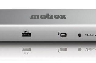 Matrox DS1 is a practical, powerful Thunderbolt dock