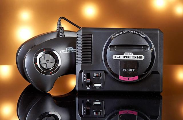 The Sega Genesis Mini is $30 off for Black Friday