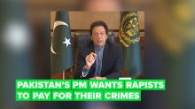 Pakistan's PM is calling for rapists to be chemically castrated