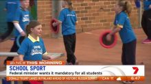 Calls for sport to be made compulsory in schools