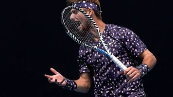 Tsitsipas, Moutet engage in war of words at event in France