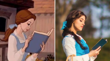This woman recreated every Disney Princess outfit
