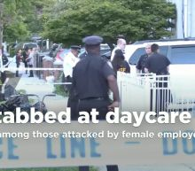 Three infants, two adults stabbed at New York City daycare center