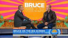 Bruce Willis and Matt Lauer Share Awkward Moments
