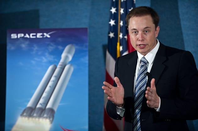 Elon Musk blames bribery for Air Force awarding rocket contract to a competitor