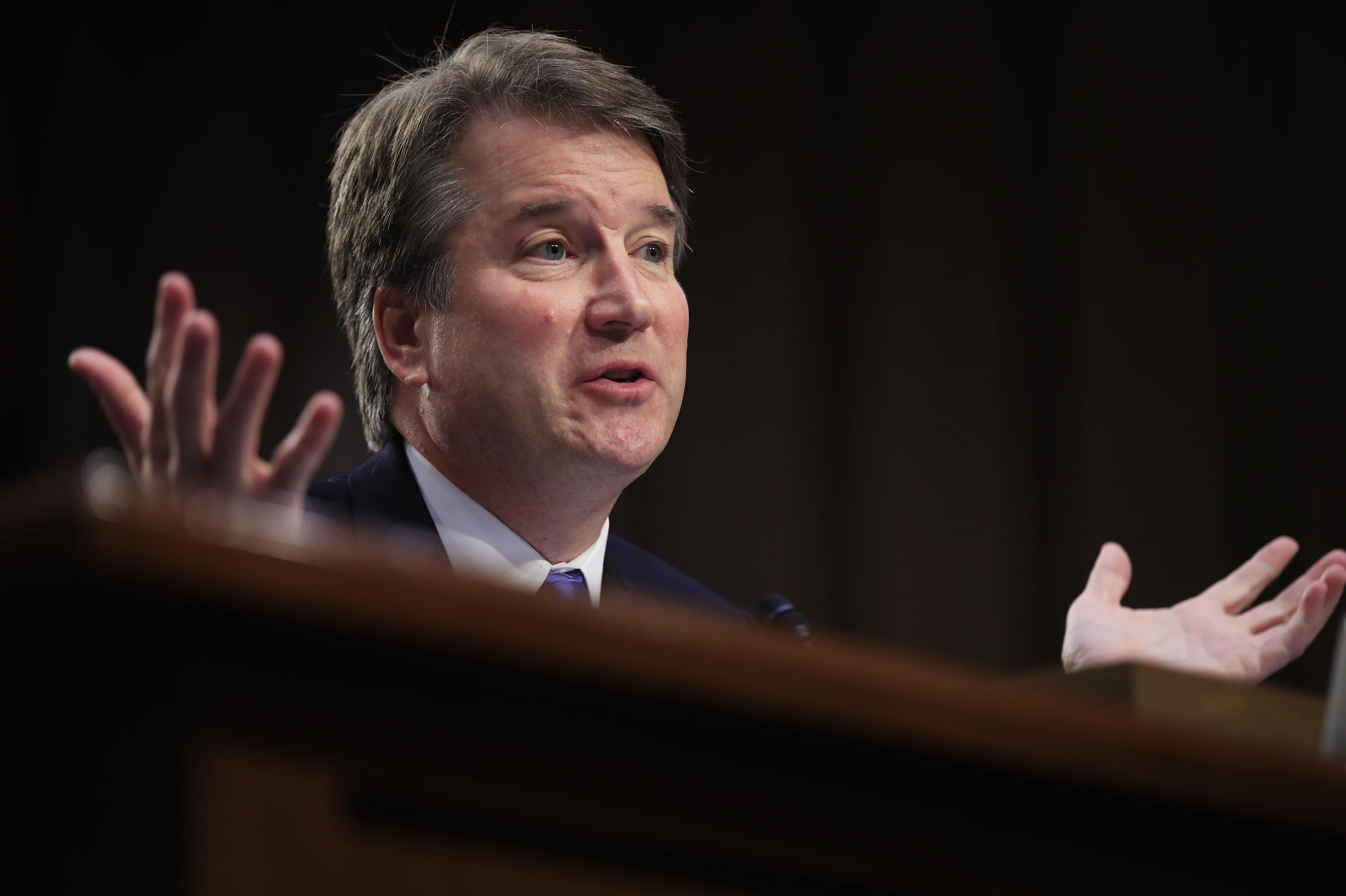 As Senate hearing set for Kavanaugh, new accuser emerges