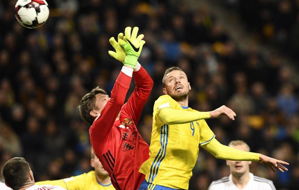 Andrey Gorbunov a vécu une soirée difficile en Suède.