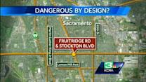 South Sac intersection makes 'most dangerous' list for sixth year