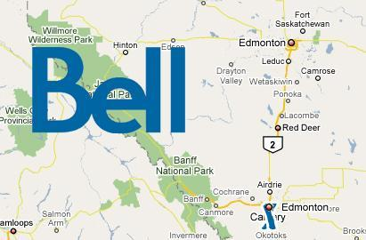 Bell Canada cell tower in Calgary confused, thinks it's in Edmonton
