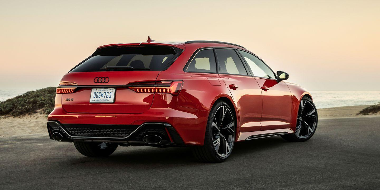 2021 Audi RS6 Avant and RS7 Priced