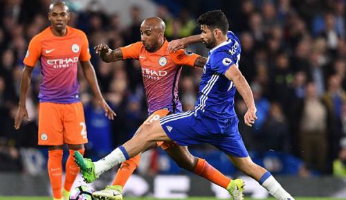 Premier League: Tritt nach Kompany - Costa kommt davon