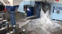 Superstorm Sandy Floods NYC Subway System