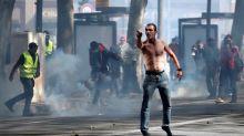 """Un gran despliegue policial limita los disturbios de los """"chalecos amarillos"""""""