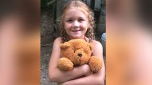 Girl searches for owner of teddy bear containing heartfelt message from soldier
