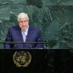 Syria's Moualem says victory within reach, de-escalation zones temporary