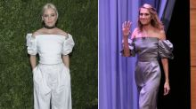 Ein Teil, zwei Looks: Elizabeth Banks und Allison Williams