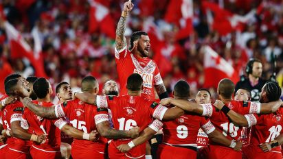The incredible act of respect from Tongan crowd