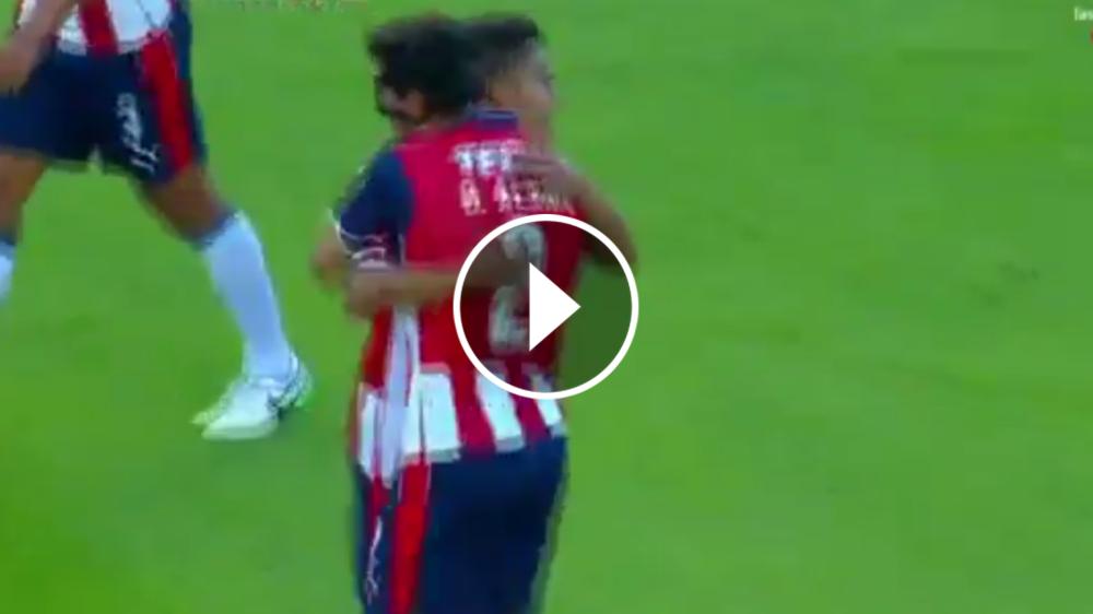 VIDEO: La espectacular anotación de Oswaldo Alanís vs Cruz Azul