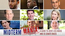 Democrats are counting on rookie candidates to flip the House. How's that working out for them?