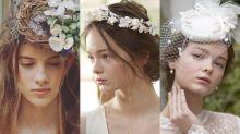 快收藏起來!2018婚禮頭飾禮帽大趨勢增加準新娘的浪漫仙氣
