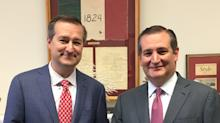 This Pic Of Ted Cruz And Tom Ricketts Is Freaking Everyone The Heck Out