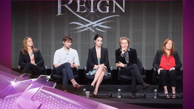 Entertainment News Pop: CW's 'Reign' - 'It's Not the History Channel' Says Star Adelaide Kane