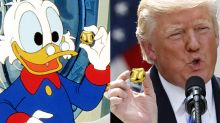 Can you tell the difference between these Donald Trump and Scrooge McDuck quotes?