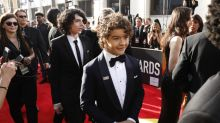 """The """"Stranger Things"""" kids are at the Golden Globes, but someone is missing"""