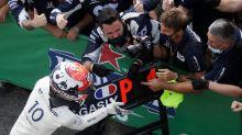 Gasly da la sorpresa y se lleva el GP de Italia, Carlos Sainz termina segundo