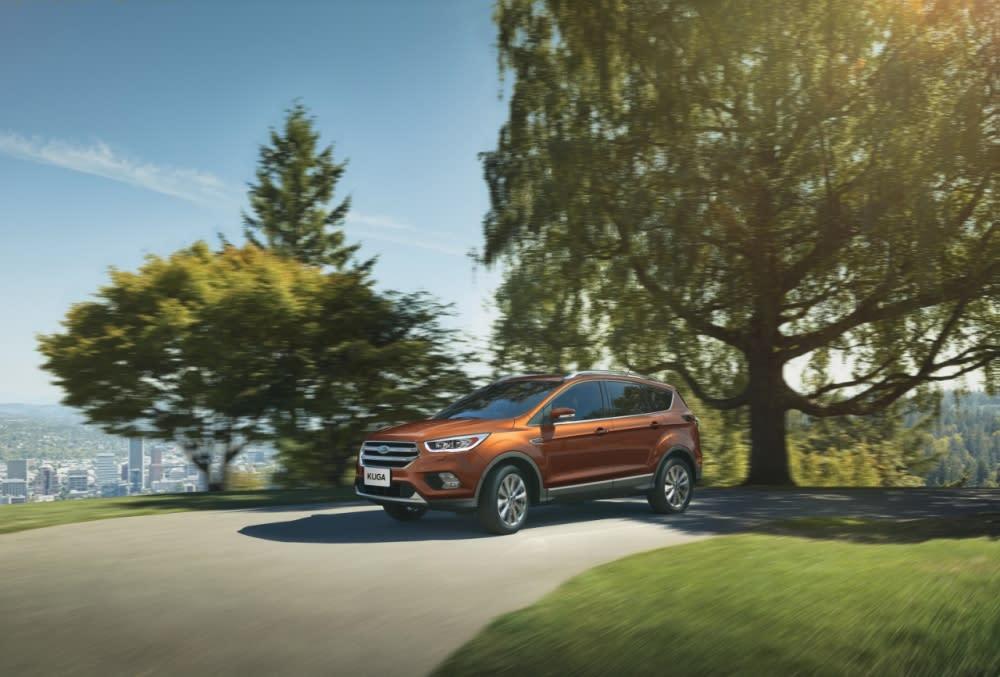 Ford車系年底購車多重優惠 入主Ford Kuga限量升級英國原裝尾翼套組 再享五大好禮