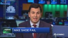 Nike shares down after Zion Williamson's shoe breaks