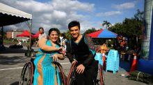 Taiwan's wheelchair athletes find love on the dance floor