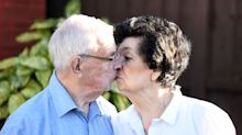 Childhood soulmates marry 75 years after they first met