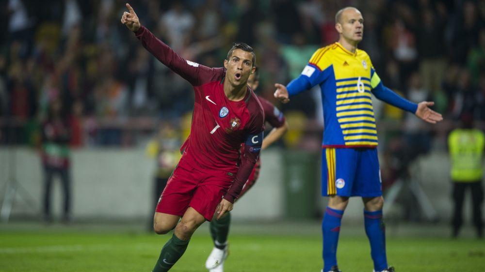 Cristiano Ronaldo lidera la lista de Portugal