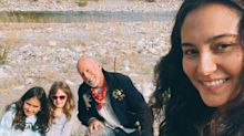 Bruce Willis Enjoys the 'Great Outdoors' with His Wife Emma and Their Daughters Evelyn and Mabel