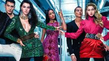Exclusive! See All Of The Balmain x H&M Images Starring Kendall Jenner, Gigi Hadid & Jourdan Dunn
