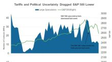 Large Speculator Positions on the S&P 500 Index for the Week