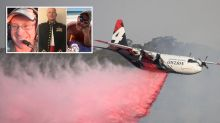 The final message sent by heroic firefighters on fatal flight